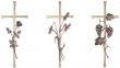 Croix funéraires en bronze