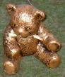 Ourson en bronze