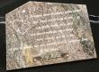 Plaque funéraire gravée en granit (Modèle 5)