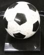 Ballon de football en granit