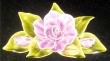 Fleur en majolique
