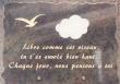 Plaque pour columbarium